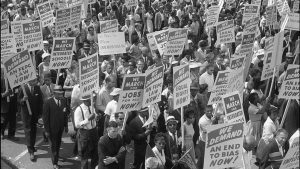 Civil Rights march photo