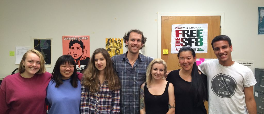 LSPC's Summer 2016 Interns, left to right: Jessie Richards, Jaydee Lee, Anna Nathanson, Paul Kelly, Rose Boughton, Amy Gong Liu, Arjun Parikh.