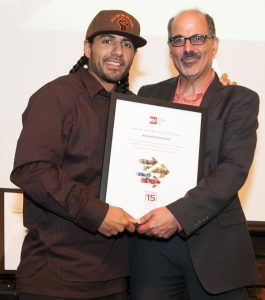 Manuel_NELP award 2016_with Maurice (2)
